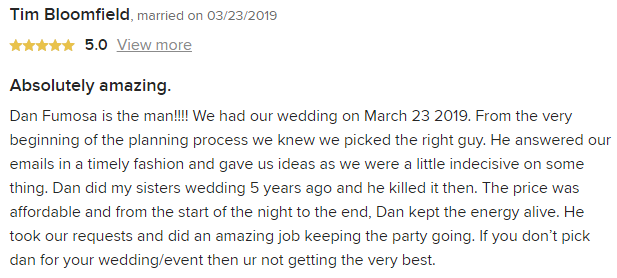 EliteEntertainment_WeddingWireReview_NJWedding_DanFumosa 201903232019