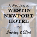 Westin Newport Hotel in Jersey City Wedding for Shirley and Clint
