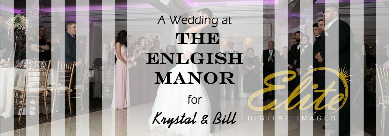 English Manor Wedding for Krystal and Bill