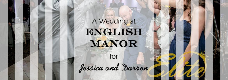 English Manor Wedding for Jessica and Darren