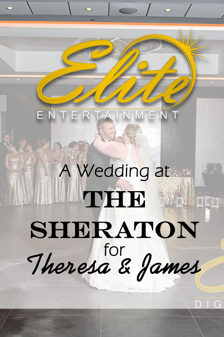 pin - Elite Entertainment - Wedding at Sheraton for Theresa and James