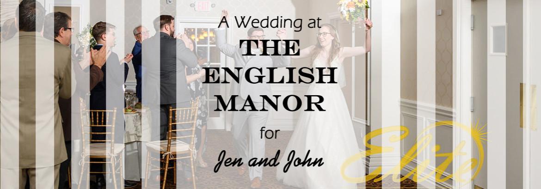 English Manor Wedding for Jen and John