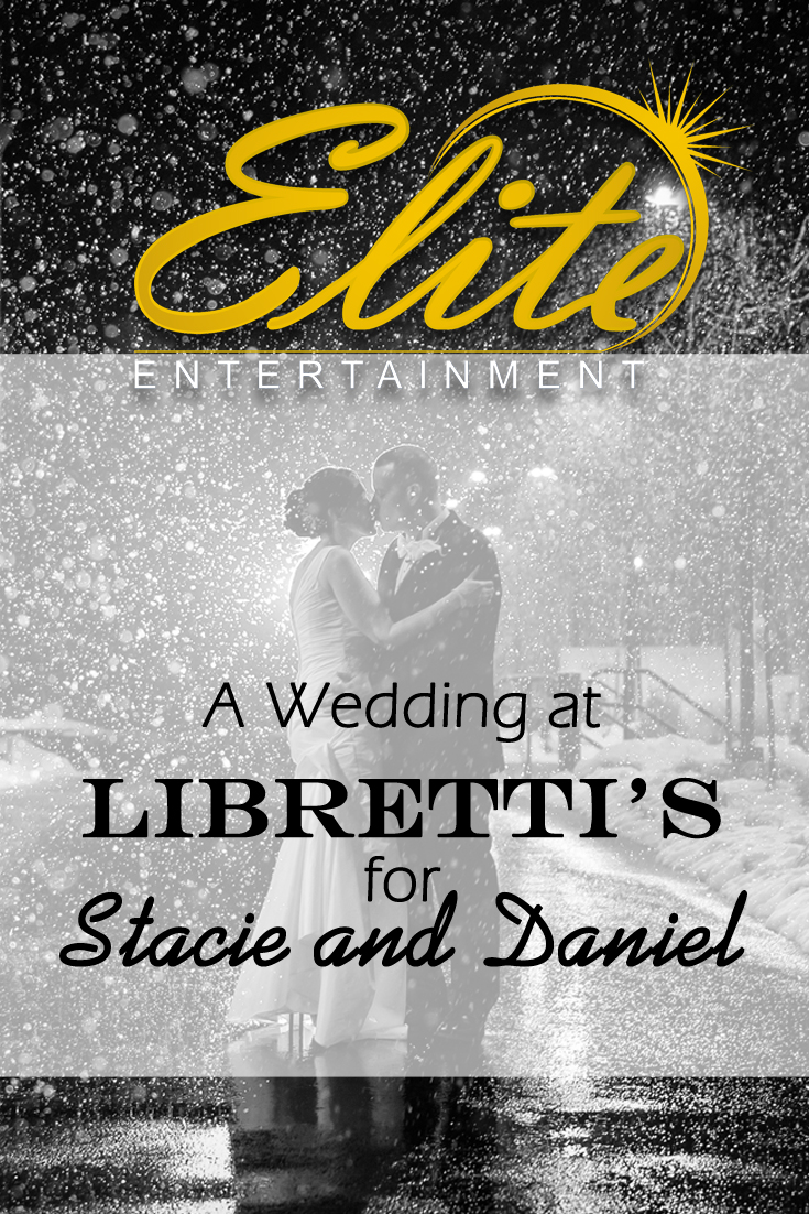 pin - Elite Entertainment - Wedding at Librettis for Stacie and Daniel