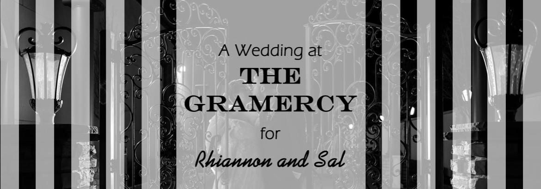 Gramercy in Hazlet Wedding for Rhiannon and Sal