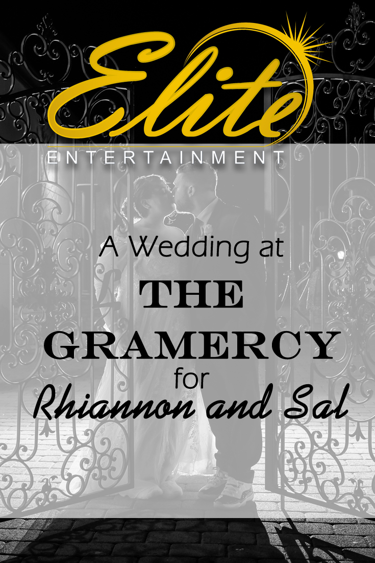 pin - Elite Entertainment - Wedding at Gramercy for Rhiannon and Sal