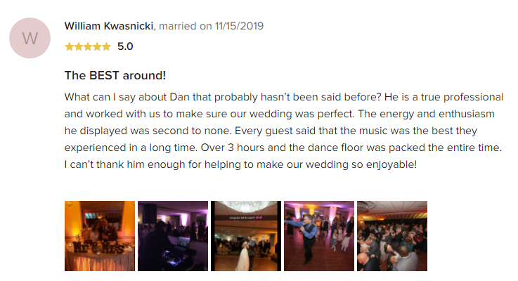 EliteEntertainment_WeddingWireReview_NJWedding_DanFumosa 2019 11-15-2019