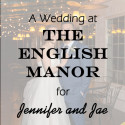 English Manor Wedding for Jennifer and Jae