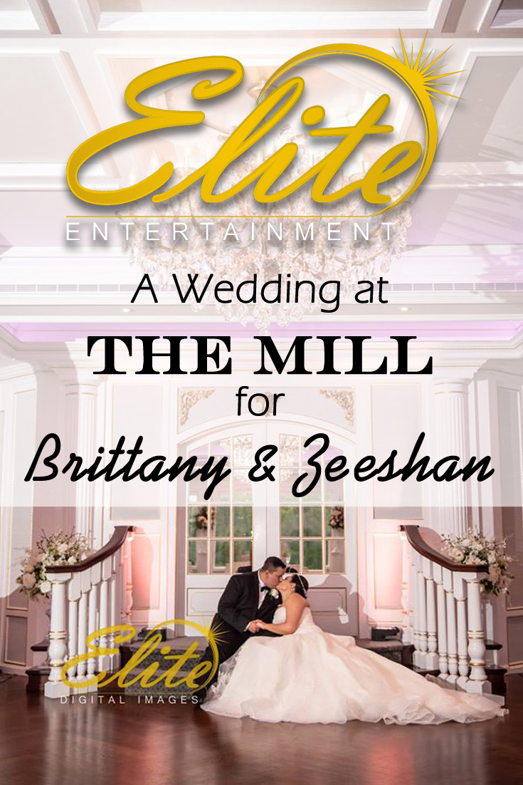 pin - Elite Entertainment - Wedding at The Mill Lakeside Manor for Brittany and Zeeshan