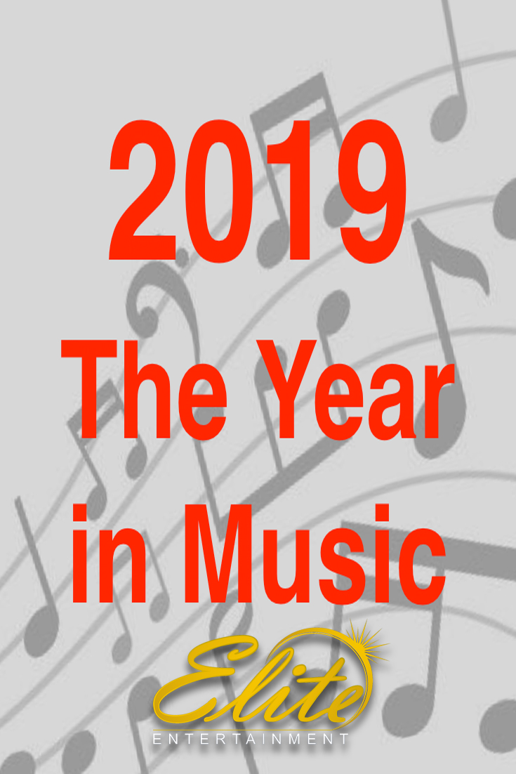 pin - Elite Entertainment - 2019 Year in Music