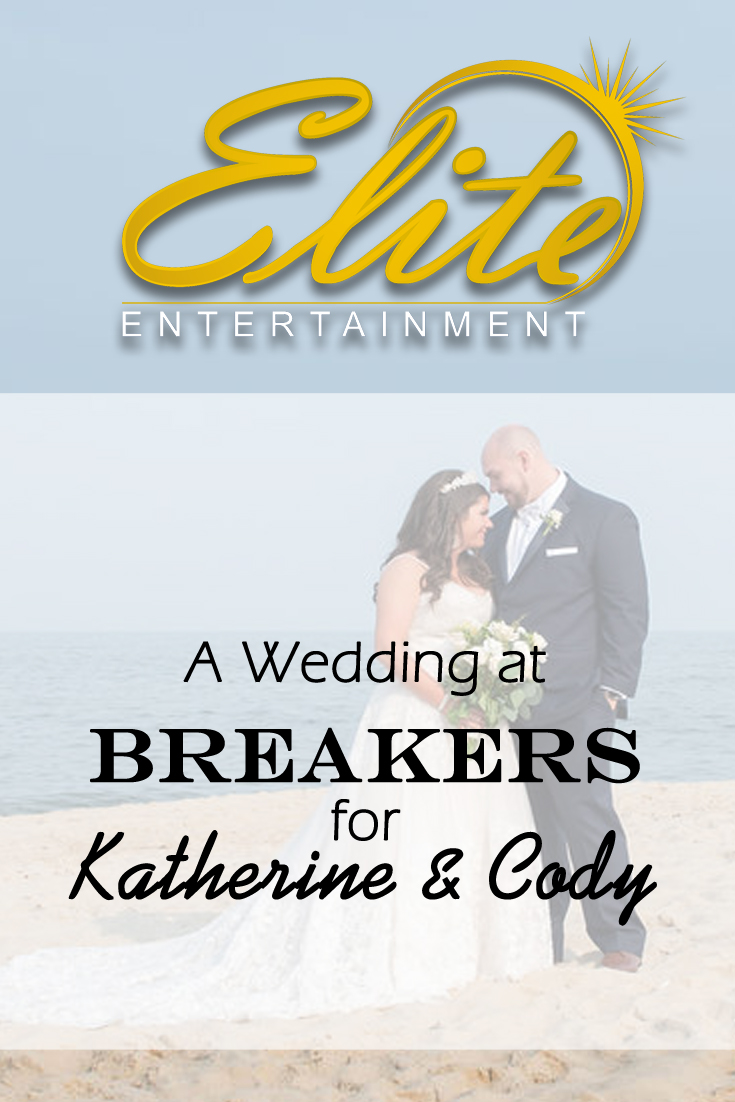 pin - Elite Entertainment - Wedding at Breakers for Katherine and Cody