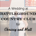 Battleground Country Club Wedding for Chrissy and Matt