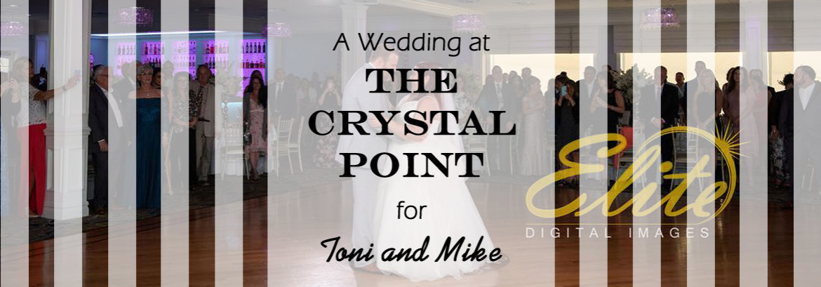 A Crystal Point Wedding for Toni and Mike