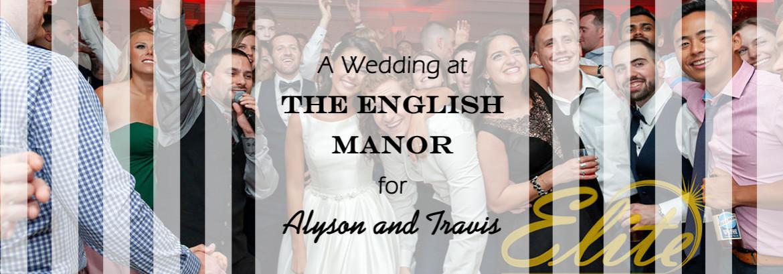 English Manor Wedding for Alyson & Travis