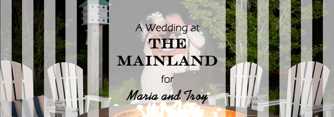 The Mainland in Manahawkin Wedding for Maria and Troy