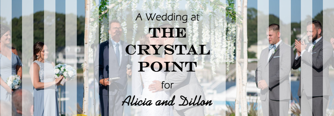 Crystal Point Wedding for Alicia & Dillon