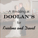 Doolans Wedding for Kristina and David