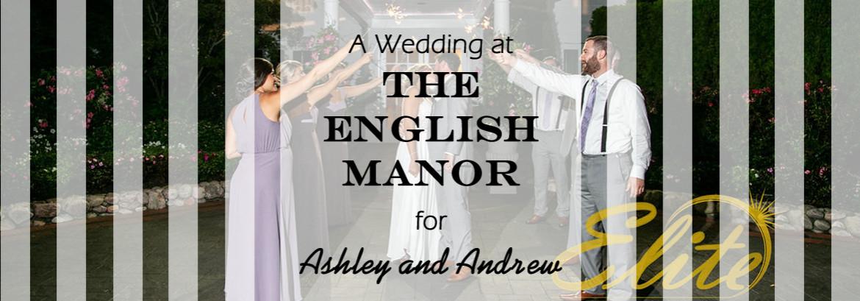 English Manor Wedding for Ashley and Drew