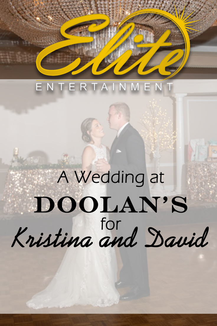 pin - Elite Entertainment - Wedding at Doolans for Kristina and David