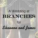 Branches in West Long Branch Wedding for Shannon and James