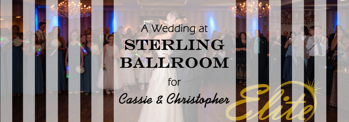 Sterling Ballroom at The Double Tree Wedding for Cassie and Christopher
