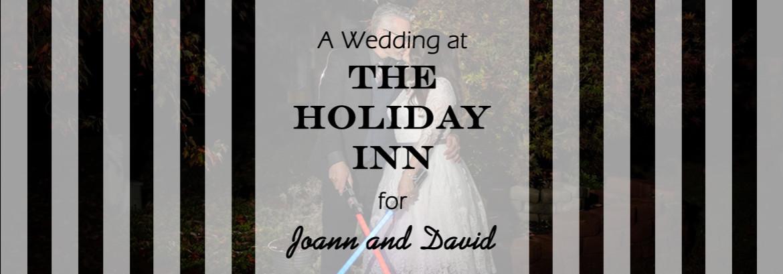 A Windsor Ballroom at the Holiday Inn Wedding for Joann and David