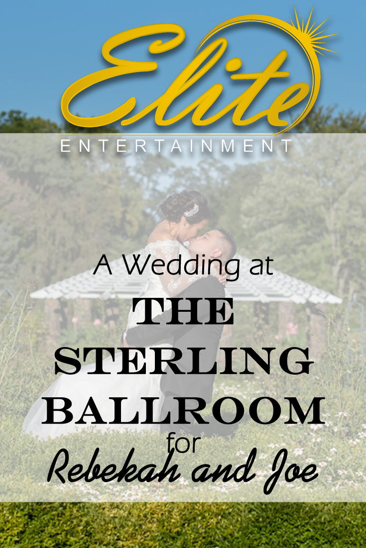 pin - Elite Entertainment - Wedding at Sterling Ballroom for Rebekah and Joe